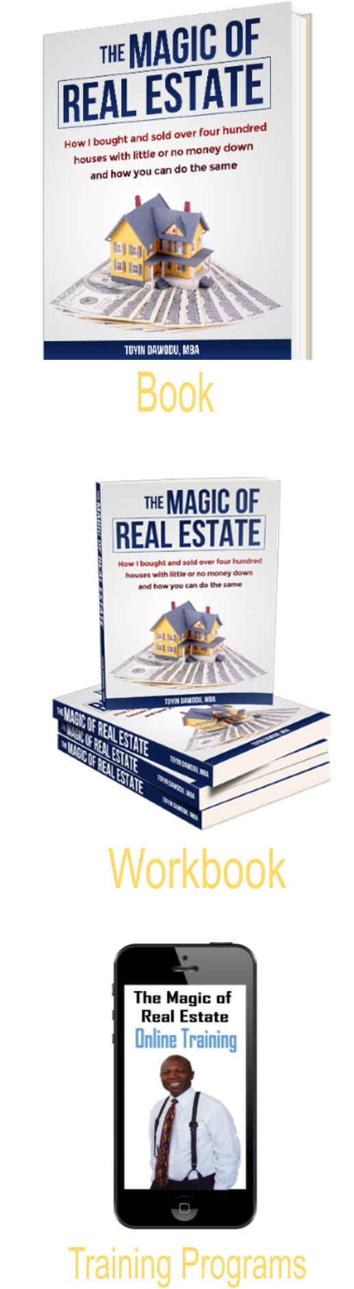 The Magic of Real Estate Training Products by Toyin Dawodu