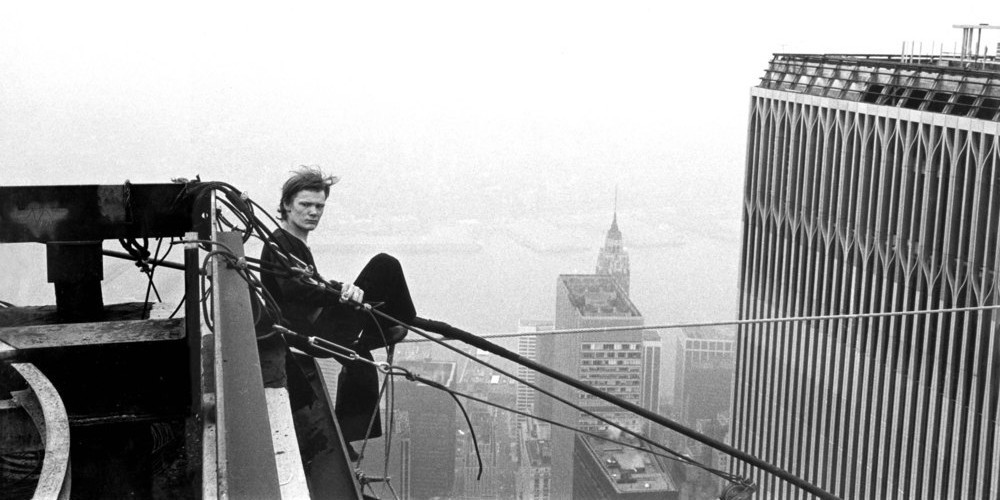 Philippe Petit in Man on Wire | Calculated Risk