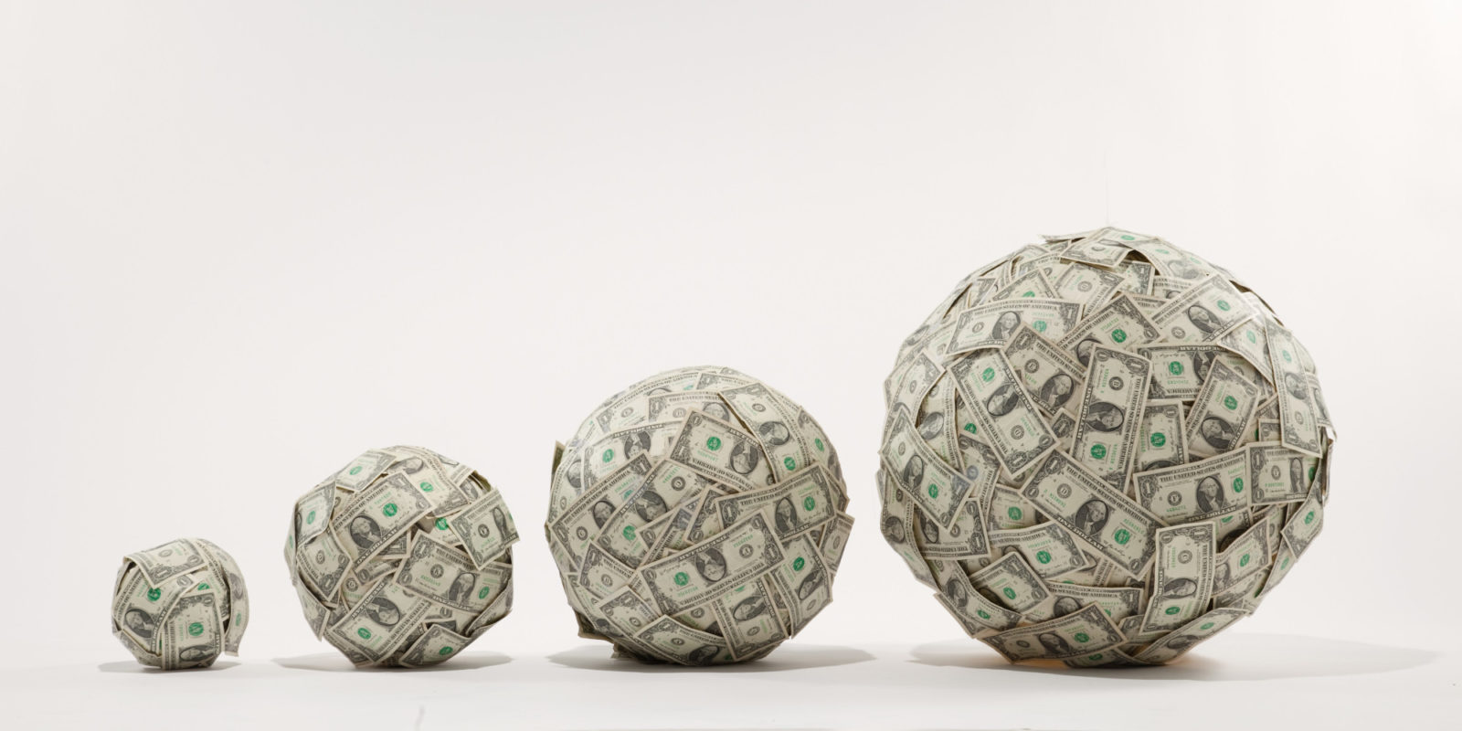 Funding for business - money snowball