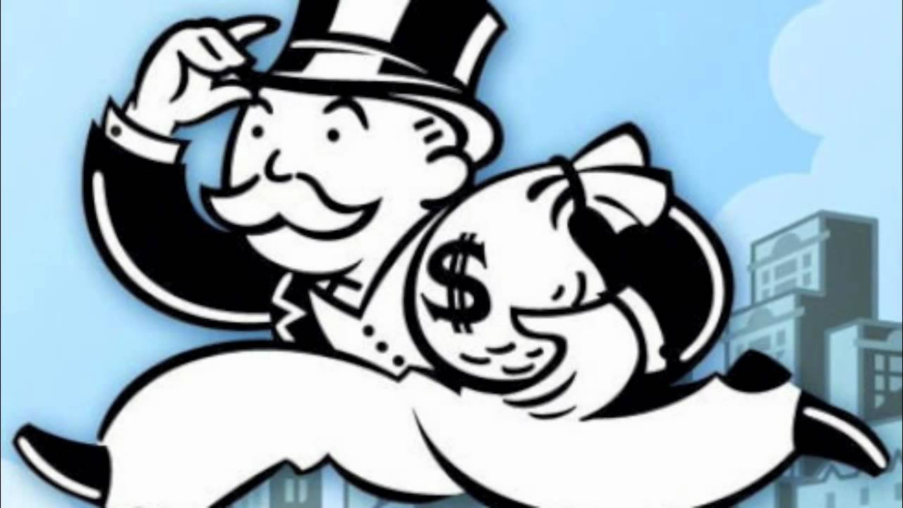 Mr. Monopoly Money Bags Landlording