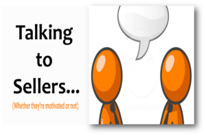 Talking to sellers