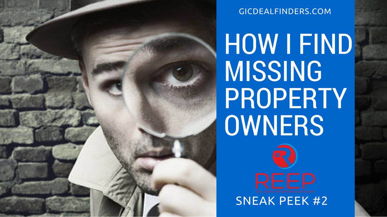 Detective Find Property Owners